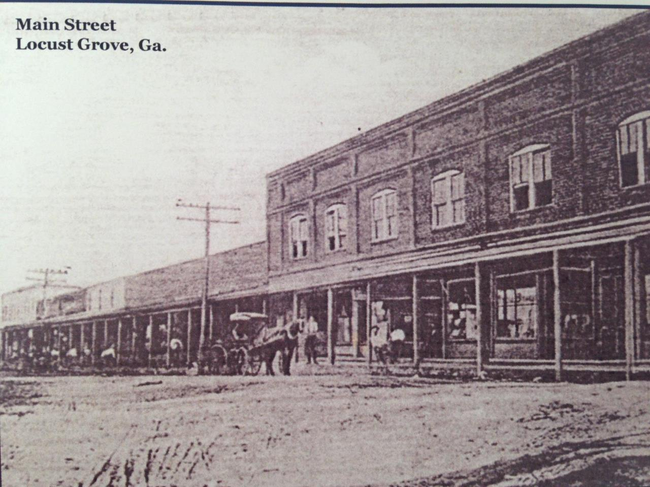 Historic Downtown Postcard